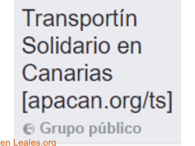 Transportín Solidario en Canarias - 1/2