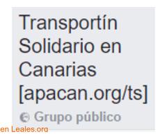 Transportín Solidario en Canarias