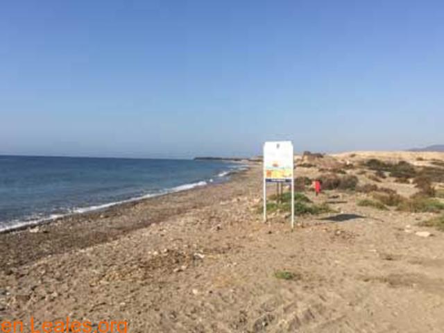 Playa de Las Cobaticas - Murcia - 6/7