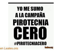 Campaña Pirotecnia Cero, o silenciosa...